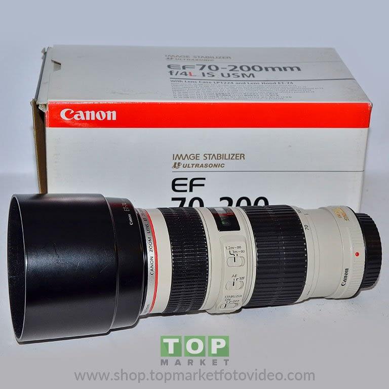 26933 Canon Obiettivo 70-200mm f/4 L IS USM