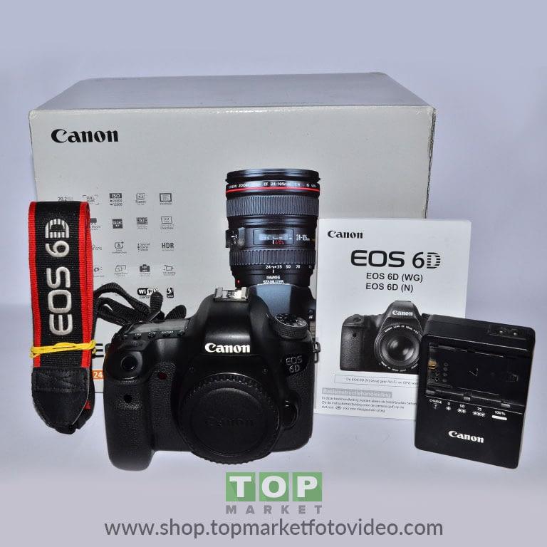 27655 Canon Eos 6D (solo corpo)
