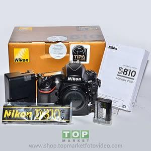 Nikon D810 (solo corpo)