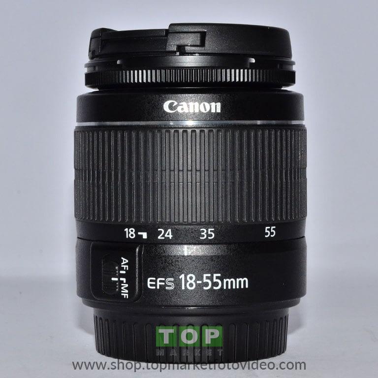 27682 Canon Obiettivo EF-S 18-55mm f/3.5-5.6 III