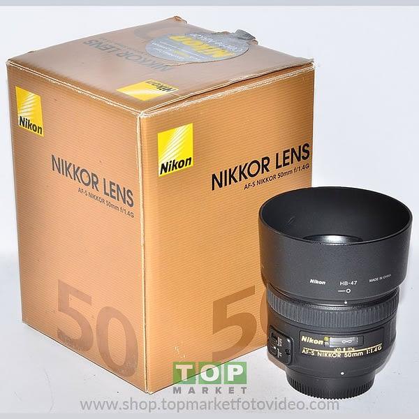 Nikon Obiettivo AF-S 50mm f/1.4 G