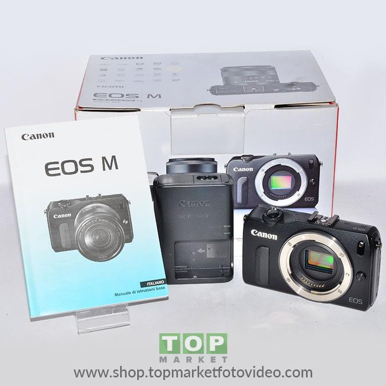 27447 Canon EOS M (solo corpo)