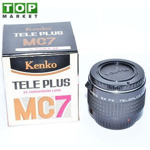 Kenko Tele Plus 2X conversion lens MC7 per Fujica-AX