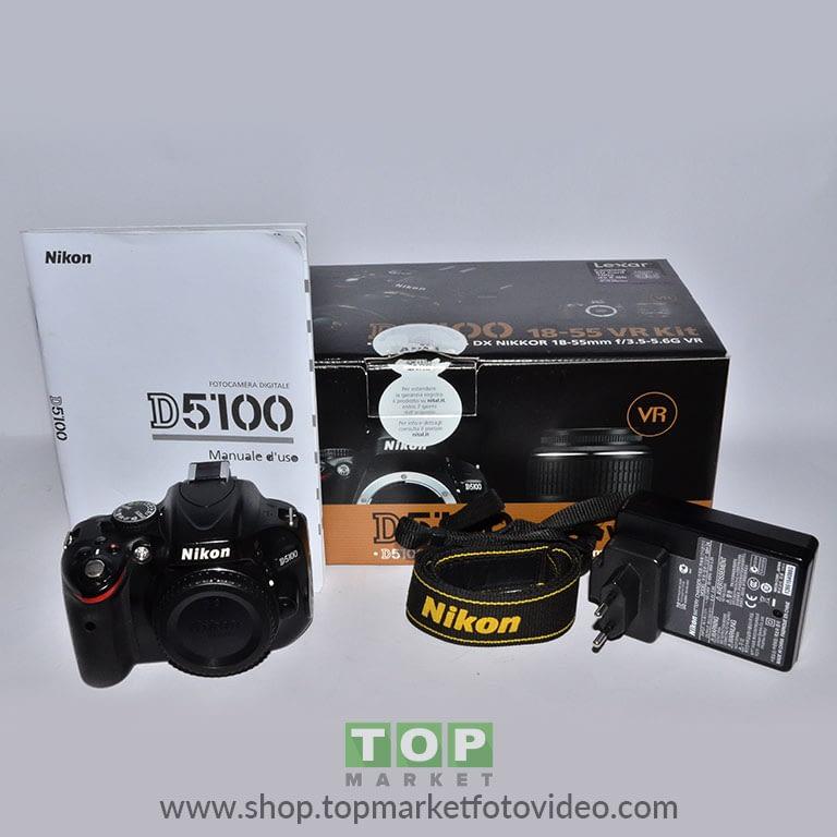 27799 Nikon D5100 (solo corpo)