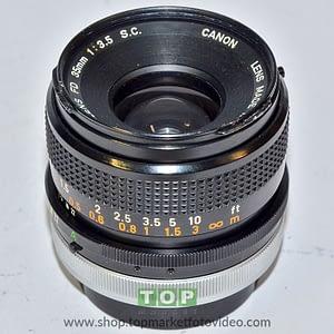 Canon Obiettivo FD 35mm f/3.5