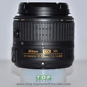 Nikon Obiettivo AF-S 18-55mm f/3.5-5.6 VR G II