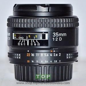 27203 Nikon Obiettivo AF 35mm f/2 D